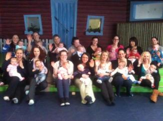 Baby Yoga group photo