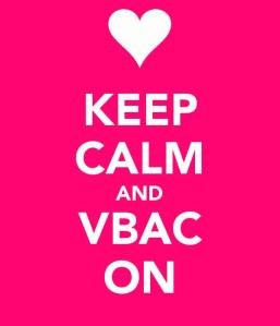 Preparing for a positive VBAC